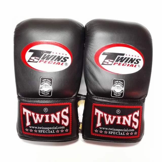 aecb480be98a8 画像1: 新品 正規 TWINS パンチンググローブ 黒 M〜XL 3size 選択 /ボクシング
